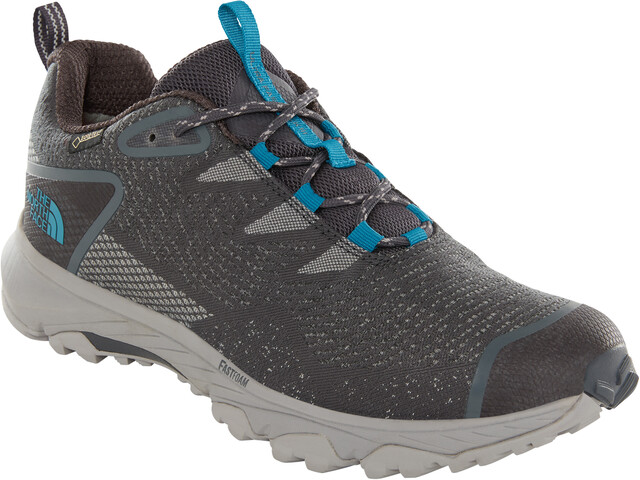 The North Face Ultra Fastpack III GTX Woven Shoes Men ebony grey/crystal teal